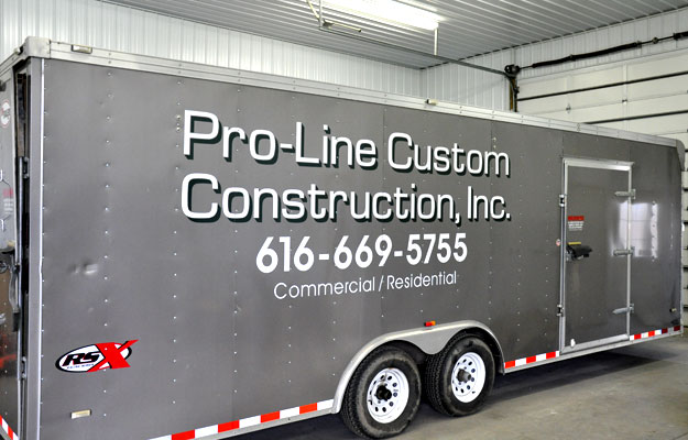 Pro-Line equipment trailer